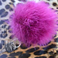 DIY: Oversized Fur Keychain