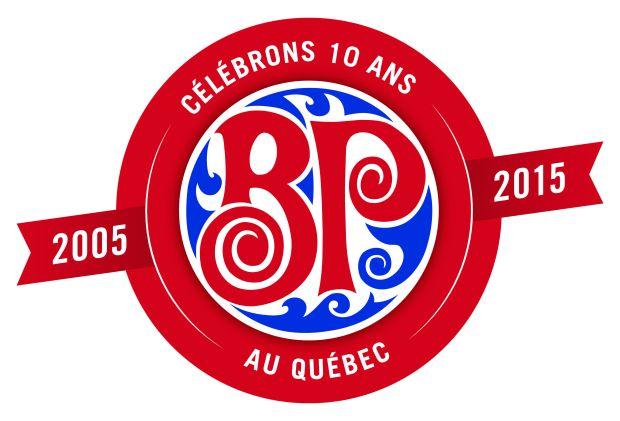 célébrations 10 ans Boston Pizza Québec BP10ansQc concours facebook carte repas pour enfants