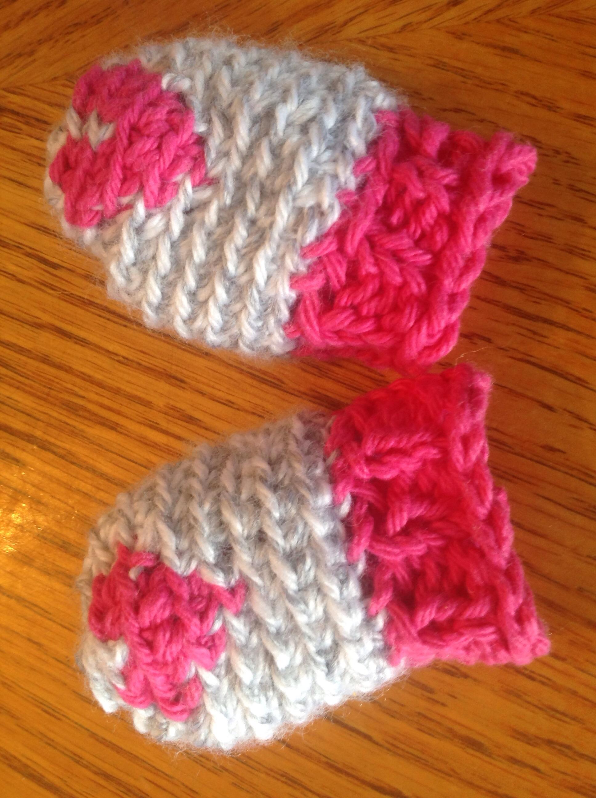 mitaines de bébé tricotées idées cadeaux de noël ou shower