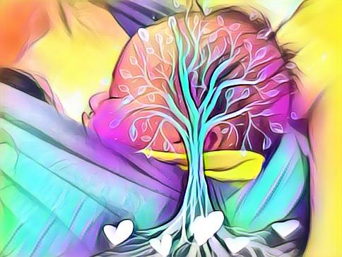 photo allaitement arbre de vie tree of life breastfeeding selfies brelfies #normalisonslallaitement #normalizebreastfeeding portage #normalisonsleportage
