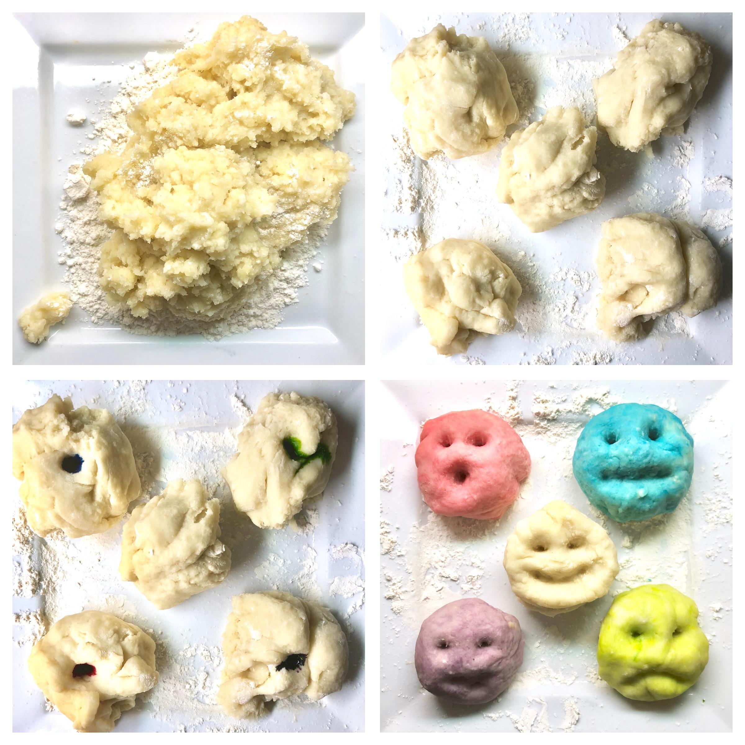 TOP recette de pâte à modeler maison naturelle et non-toxique - à conserver et même offrir en cadeau! #fête #noël #cadeau #activités #enfants #toutpetits #playdough