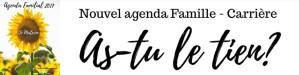 agenda familial 2017