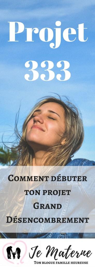 Projet 333: Comment débuter ton projet Grand Désencombrement