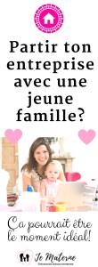 À LIRE! Partir ton entreprise avec une jeune famille - Ça pourrait être le moment idéal. Clique pour lire sur https://jematerne.com/2017/05/01/partir-une-entreprise-avec-une-jeune-famille-ca-pourrait-etre-le-moment-ideal-2 #entreprenariat #travail #mamanàlamaison