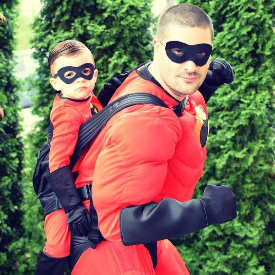 17 déguisements d'Halloween géniaux pour un bébé porté - À voir sur Je Materne!