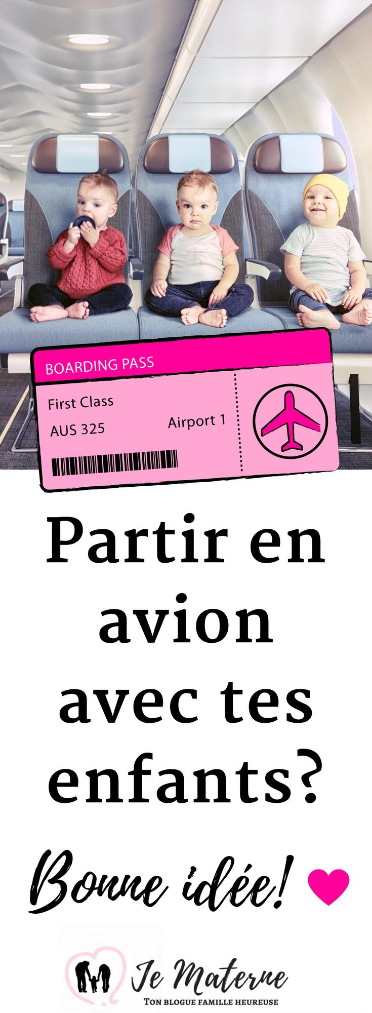 À LIRE - Partir en avion avec tes enfants, c'est quoi l'idée! Clique sur l'image pour tout lire ou visite http://jematerne.com/2018/01/30/partir-avion-enfants