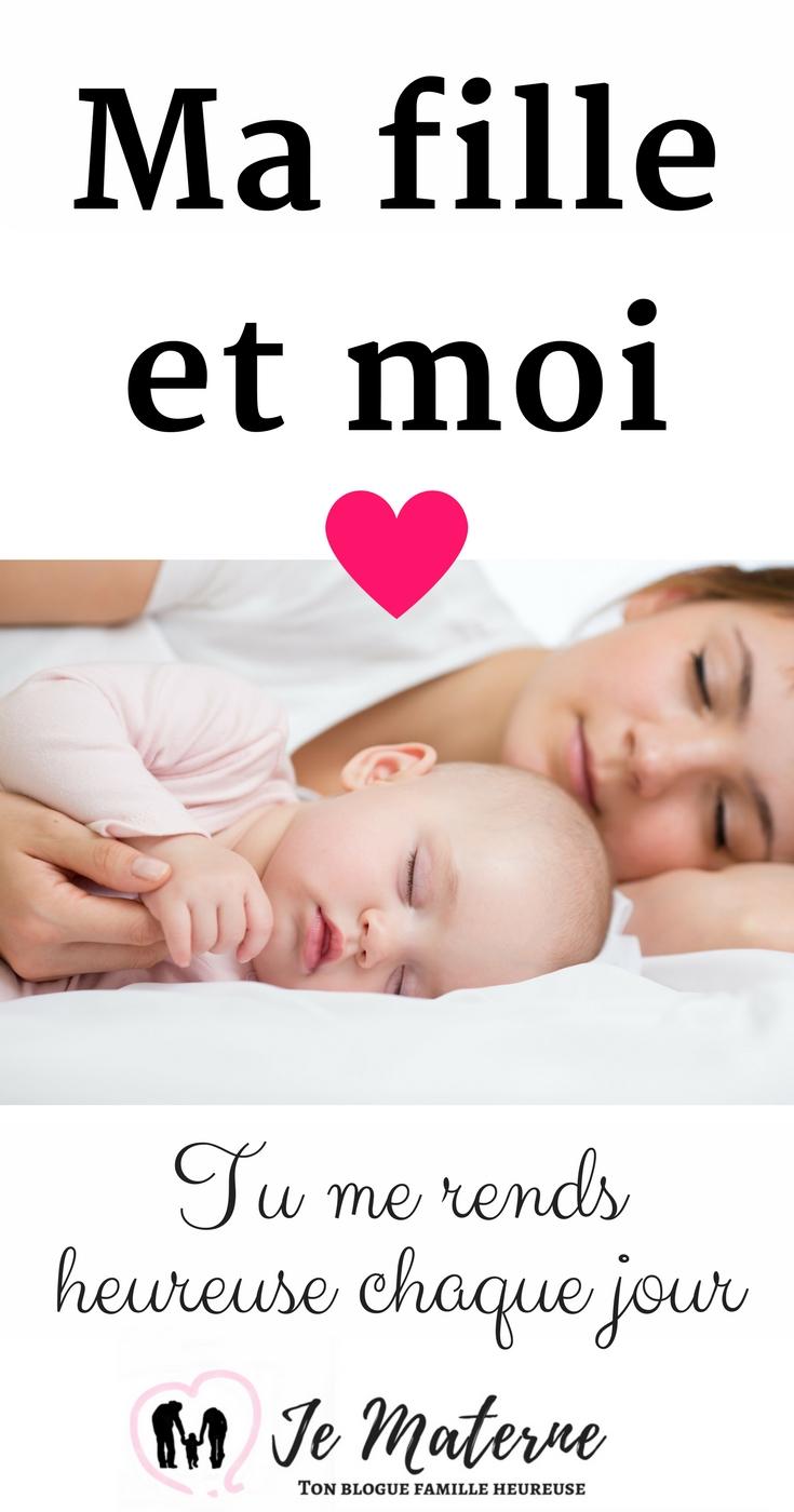 Ma fille et moi - Je Materne