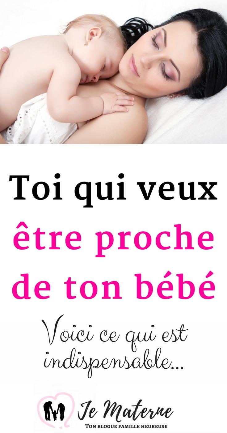 À lire - Toi qui veux être proche de ton bébé - C'est TOI qui es indispensable... Clique sur l'image ou visite https://jematerne.com/2018/02/12/veux-etre-proche-de-bebe