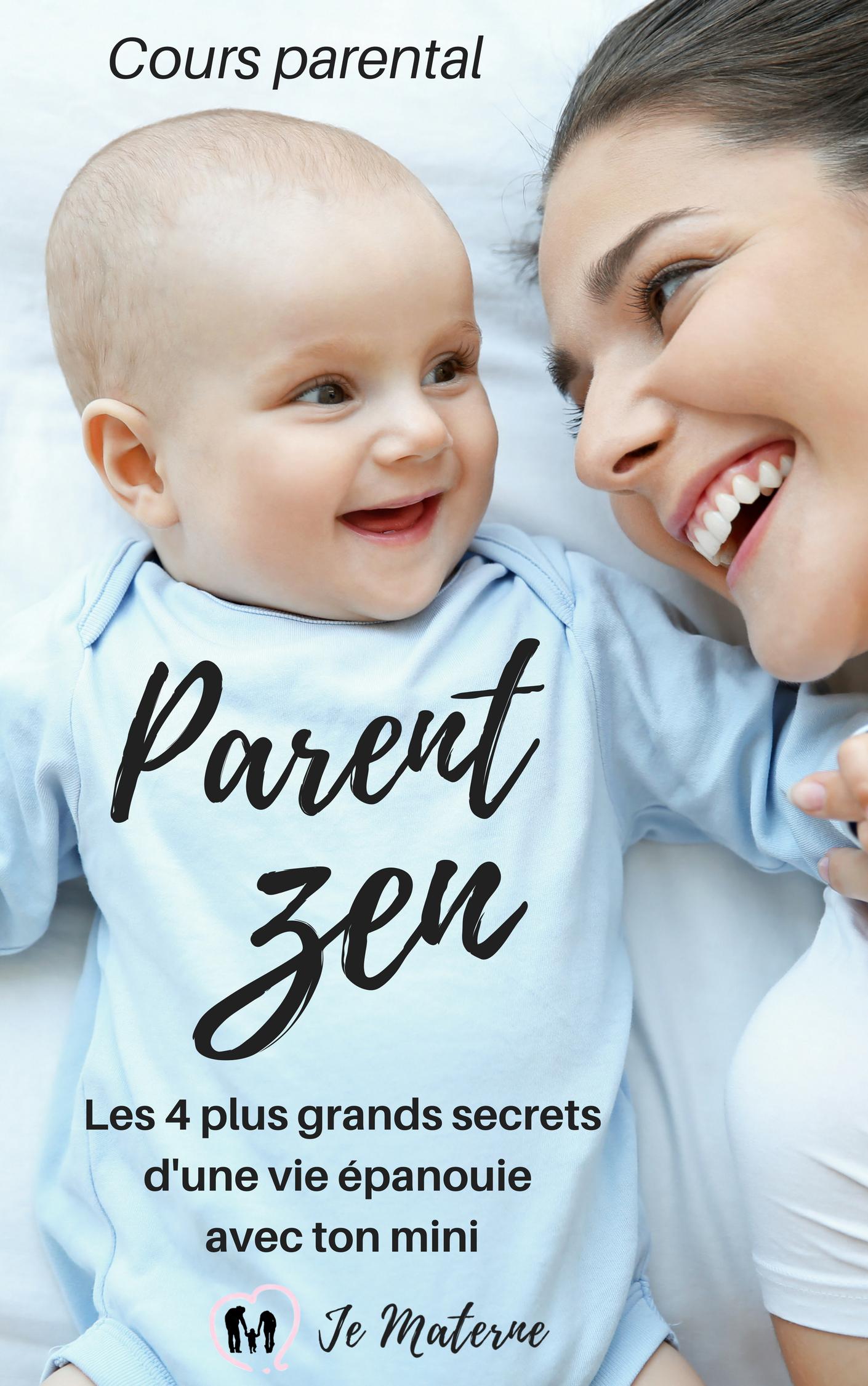 Cours Parent Zen - cours parental formation pour parent cododo portage crises désencombrement