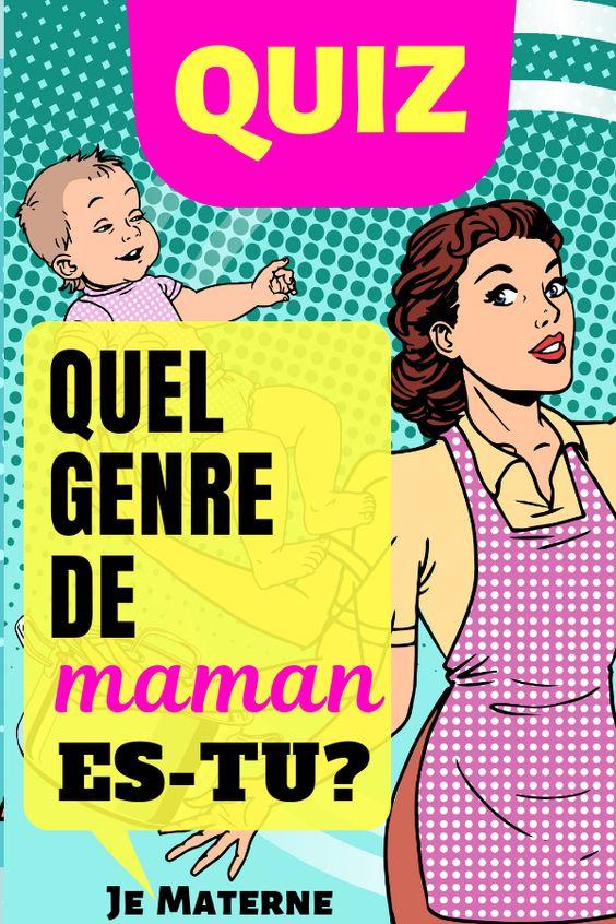 ***QUIZ GRATUIT*** Quel genre de maman es-tu? FAIS LE TEST! Clique sur l'image pour te rendre sur JeMaterne.com #maman #bébé #enfant #maternité #grossesse #allaitement #conseils #maternage #enfance #premierbébé #futuremaman #conseil #quiz #maternelle #naissance #montessori