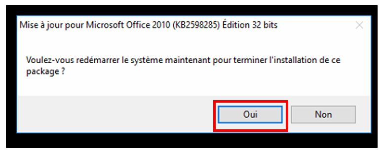 installer le patch de compatibilite windows 10