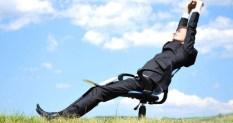 étirement pour se détendre au travail