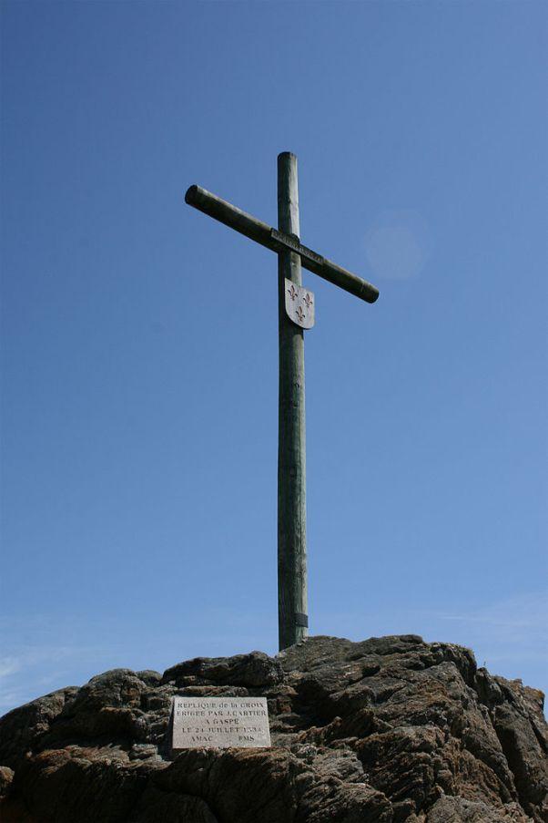 Реконструкция креста Картье
