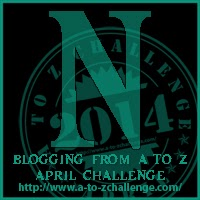 N for November for NaNoWriMo