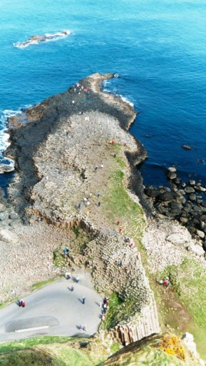 Above Giant's Causeway
