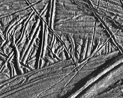"""Chaos"" surface ice - Europa"