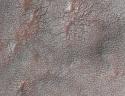 Mars mapping - thin ice