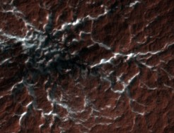 Mars mapping- spiders