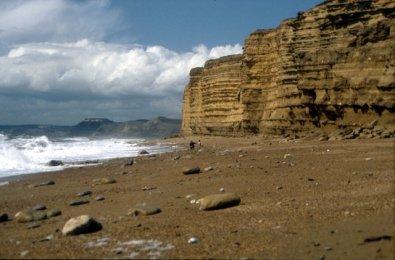 Burton Bradstock beach
