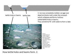 kettlehole formation Padeswood Biodiversity Park