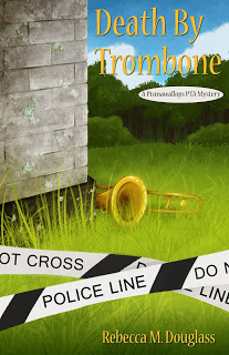 Book Review and launch | Death by Trombone by Rebecca Douglass