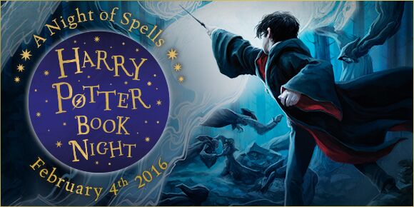 #HarryPotterBookNight – A Night of Spells
