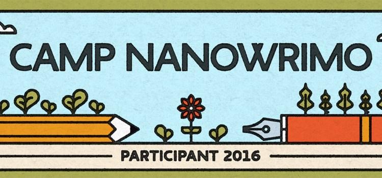 Back to Camp NaNoWriMo