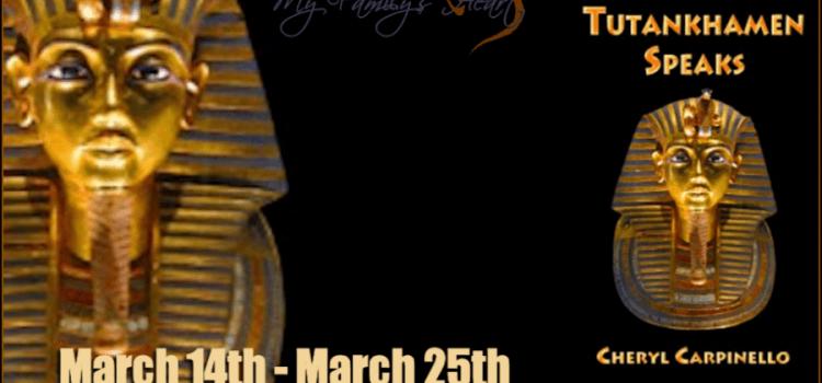 Tutankhamen Speaks – interview with Cheryl Carpinello