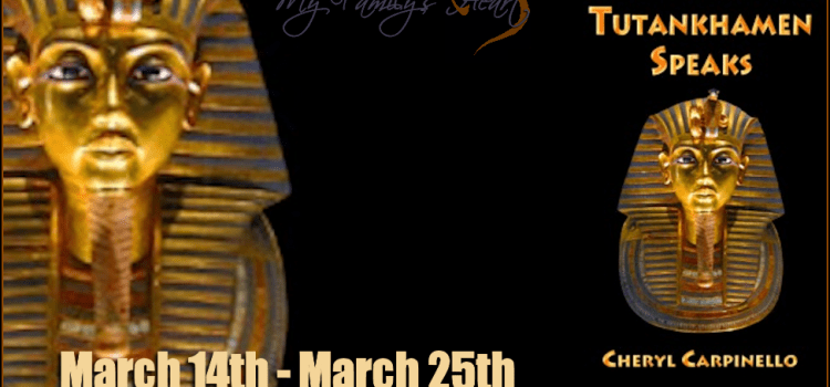 Tutankhamen Speaks – interview with Cheryl Carpinello