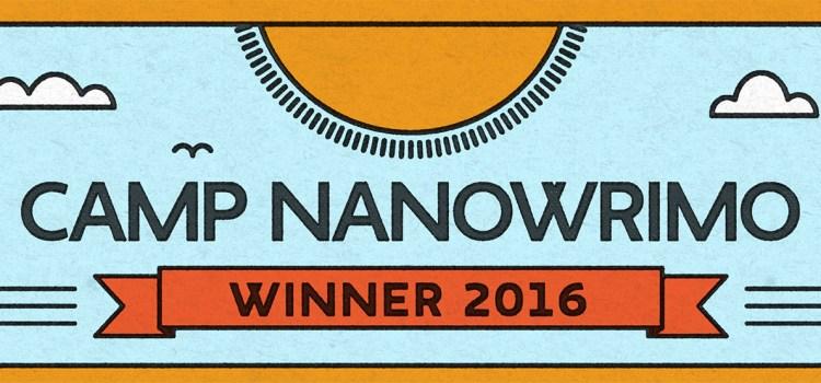 Camp NaNoWriMo Round-up