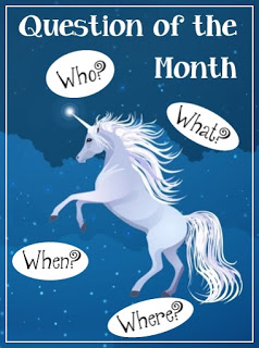 Question of the Month Unicorns badge