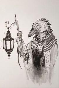wandering-raven-merchant-by-dani-english
