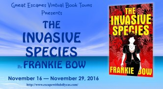 Book Tour |  The Invasive Species by Frankie Bow