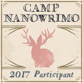 Off to Camp NaNoWriMo at the weekend!