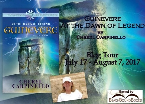 Blog Tour | Guinevere: At the Dawn of Legend