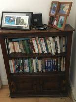 travel nature bookshelf