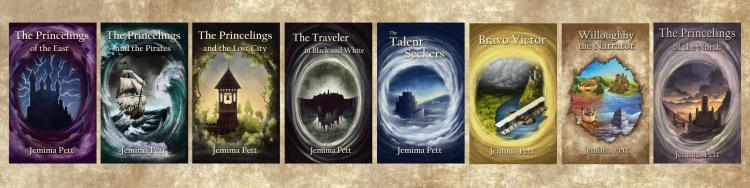princelings series covers
