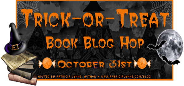 Trick or treat blog hop banner