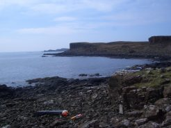 basalt cliffs of Ulva