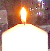 candle immaculata