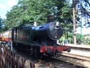 Steam's up at Holt