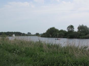 River Yare with users