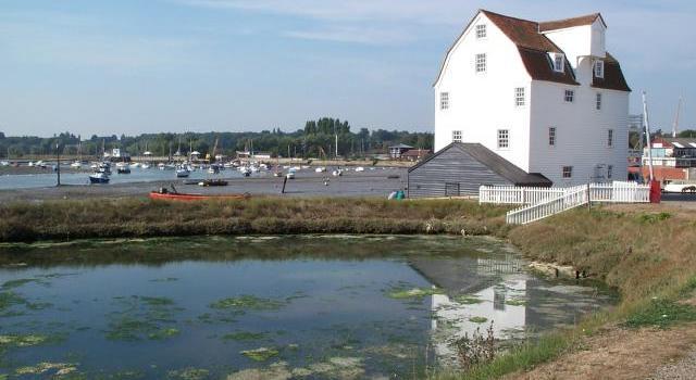 woodbridge tidal mill with pool
