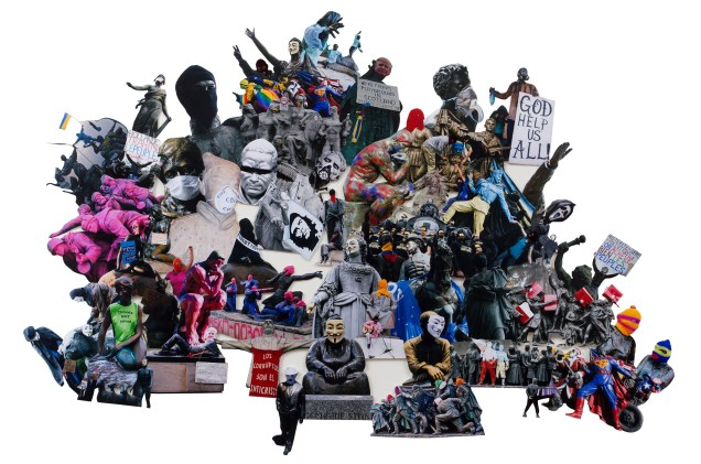 7_Email_2015_Wyman_Defaced Statues(working title)_Collage_(framed77x95cm)(unframed84x58cm)