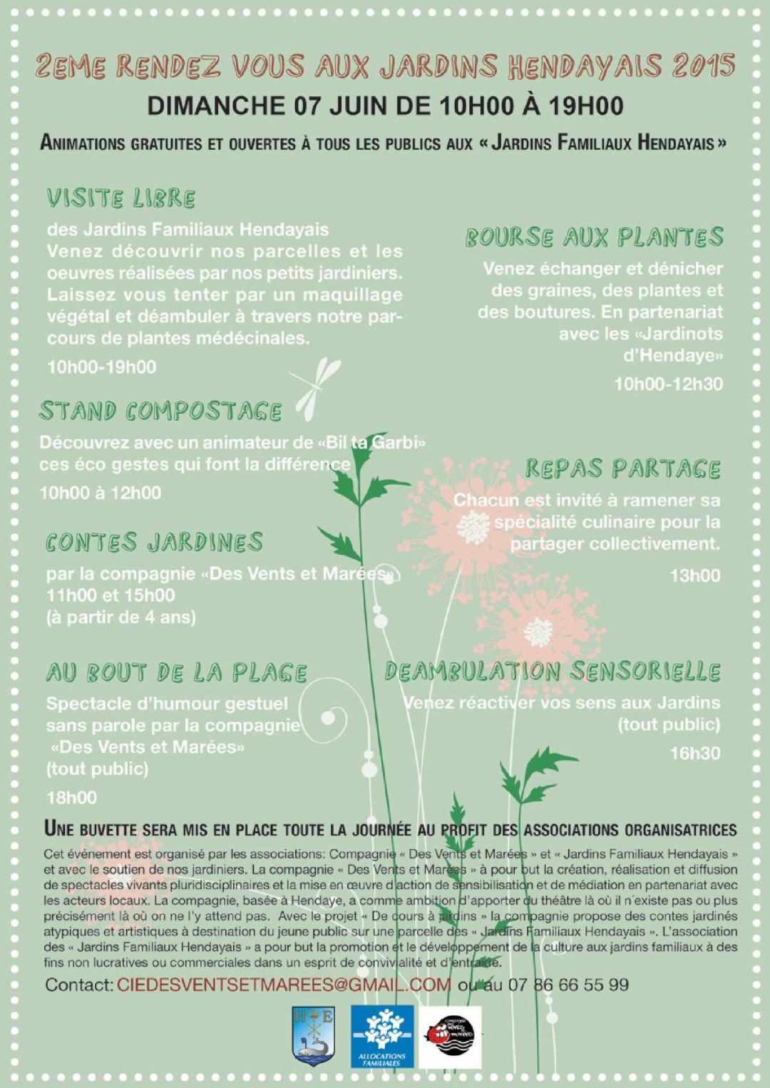 Programme Jardins Familiaux Hendayais 2015+