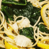 lemon butter chicken pasta with spinach is easy to make and a family favorite dinner