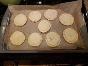 baked nutella pop tarts