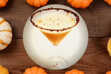 chocolate pumpkin martini is a festive autumn drink that is perfect for a chilly fall night or any evening of the year