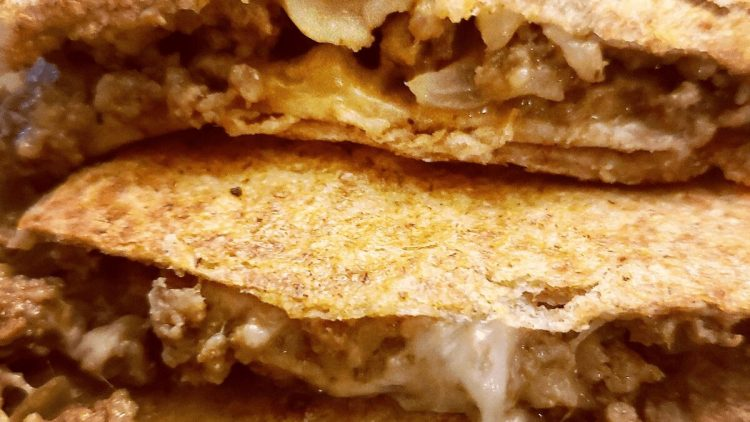 cheeseburger quesadillas will be your new favorite way to eat a burger