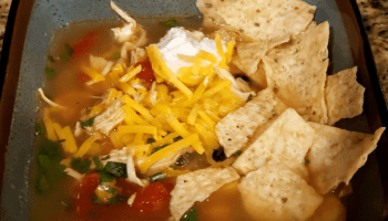 crock pot chicken tortilla soup is a hearty mexican soup that is easy to make homemade soup that tastes delicious and is healthy, a very warm and comforting dinner